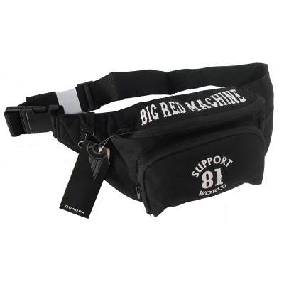 Hells Angels Support81 Fanny pack 4 pockets Big Red Machine Bumbag