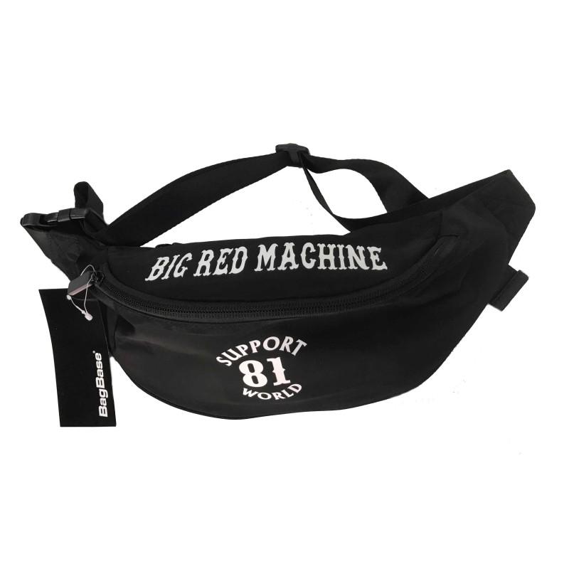 Hells Angels Support81 Fanny pack 2 pocket Big Red Machine Bumbag