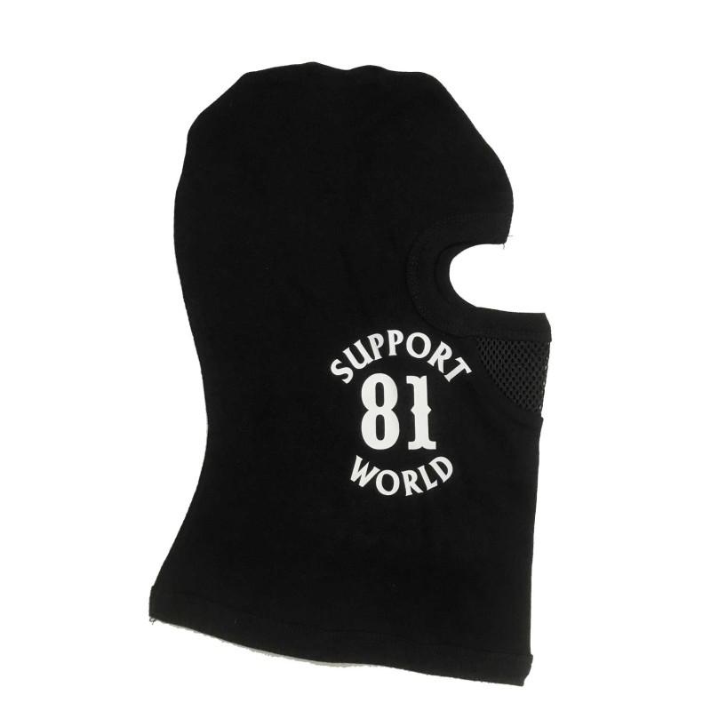 Hells Angels Support81 Face Mask black Big Red Machine