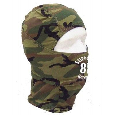 Hells Angels Support81 BALACLAVA 1-FORO Camo Big Red Machine