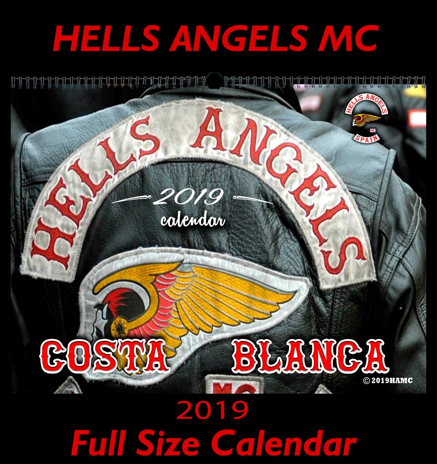 49 Hells Angels Support 81 Calendar  Limited Edition 2019 Big Red Machine