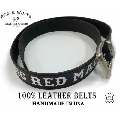 Hells Angels Leather Belt Support81 Big Red Machine