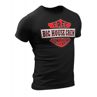 Hells Angels Support 81 Big House Crew Portugal Camiseta