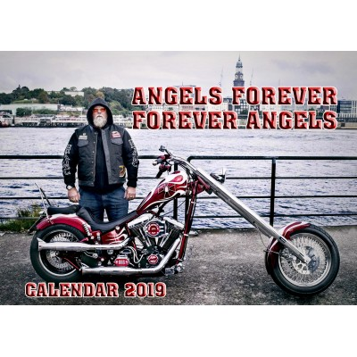 Hells Angels MC Germany Support81 Calendar 2019 Big Red Machine