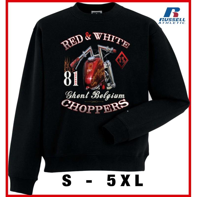 Hells Angels Ghent Belgium Sinner Support81 Black Sweater