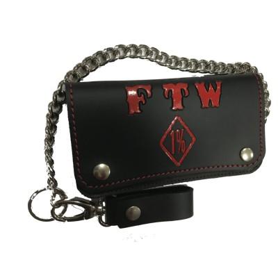 Hells Angels Support81 FTW Bourse Porte-monnaie 19cm