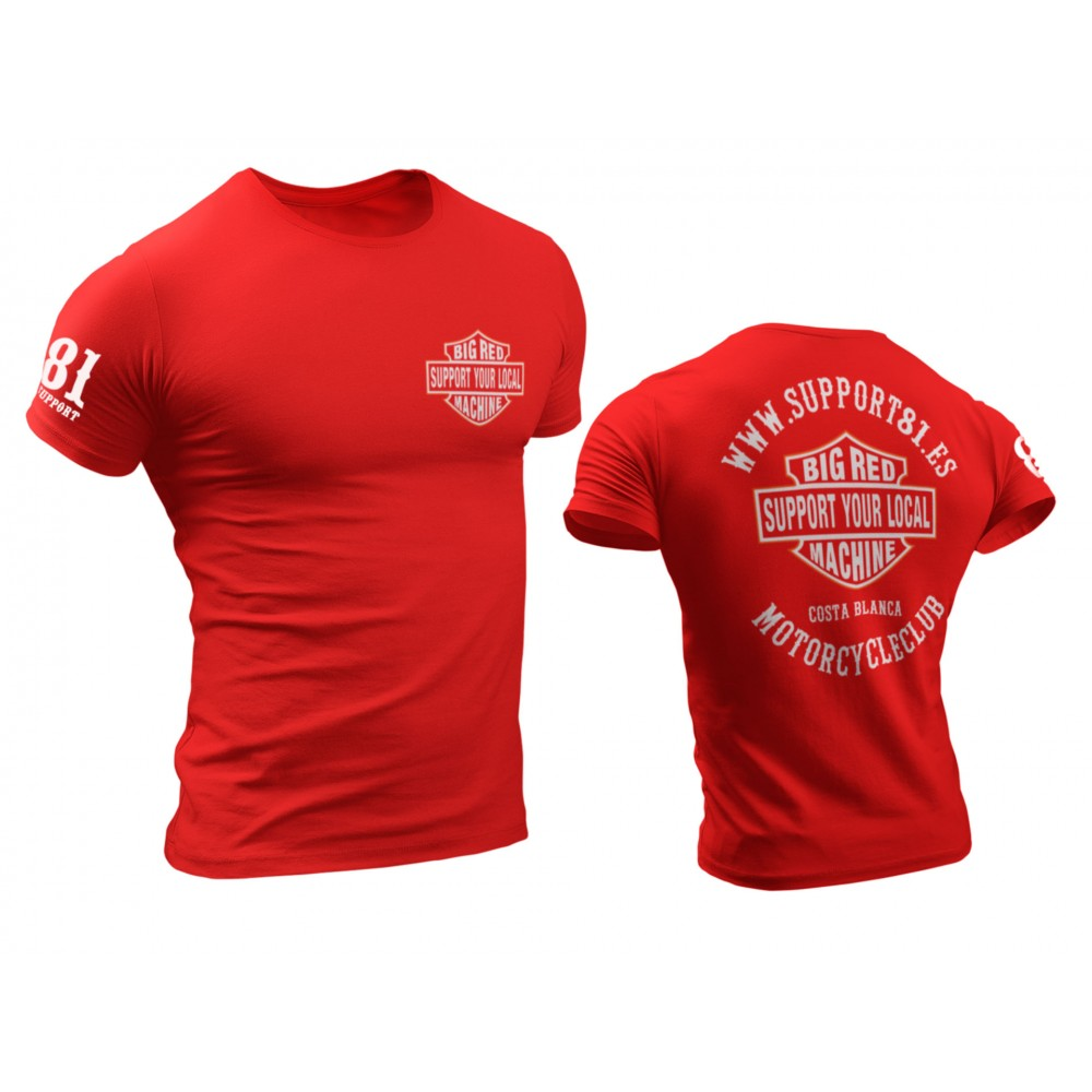 Support your local Hells Angels with this t-shirt from Big Red