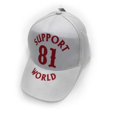 Hells Angels Support81 World baseball cap white gorra