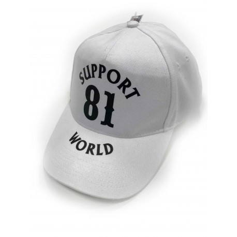 Hells Angels Support81 World baseball cap