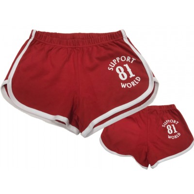 Hells Angels Women's Shortie Hot Pants Support81 World