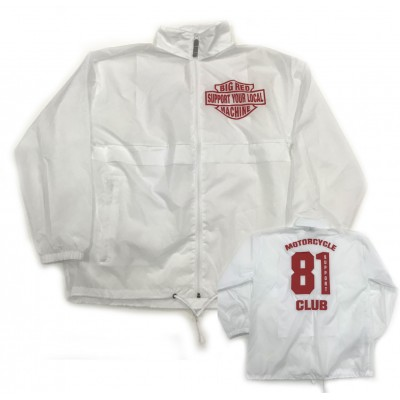 Hells Angels Support81 Big Red Machine Cortavientos Windbreaker