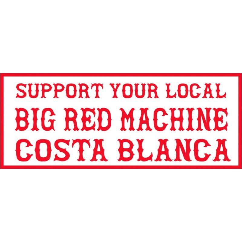Hells Angels aufkleber Support BRM Costa Blanca
