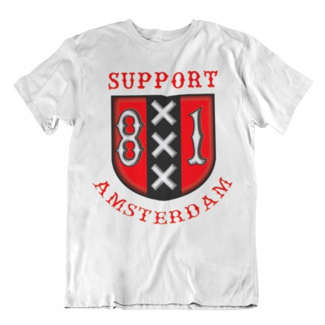 Hells Angels Amsterdam Holland Support 81 XXX T-Shirt