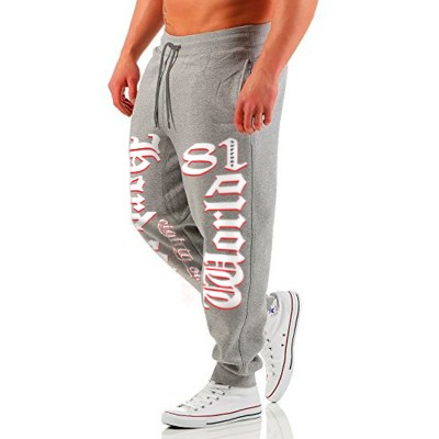 Hells Angels Support81Hardcore Jogging Pants Gray Trainingshose