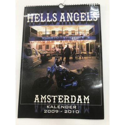 Hells Angels Amsterdam Support 81 Calendar Limited Edition 2010 Big Red Machine