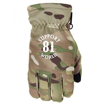 Hells Angels Support 81 Guantes (Neopren/Nylon) Camouflage