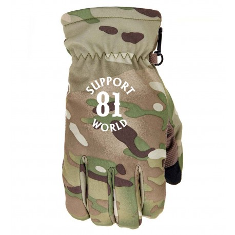 Guanti Hells Angels Support81 World Gloves (Neopren/Nylon) Camouflage
