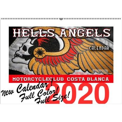 Hells Angels Support 81 Kalendar Limited Edition 2020 Big Red Machine