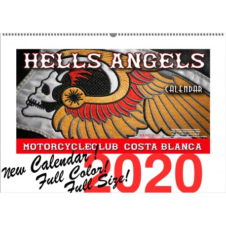 Hells Angels Support 81 Calendar Limited Edition 2020 Big Red Machine
