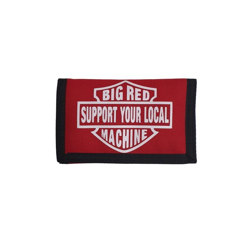 Hells Angels Support81 World Geldbeutel rot