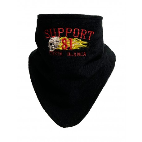 Hells Angels Support81 Bandit Face/Neck/Chest Warmer Scarf Big Red Machine