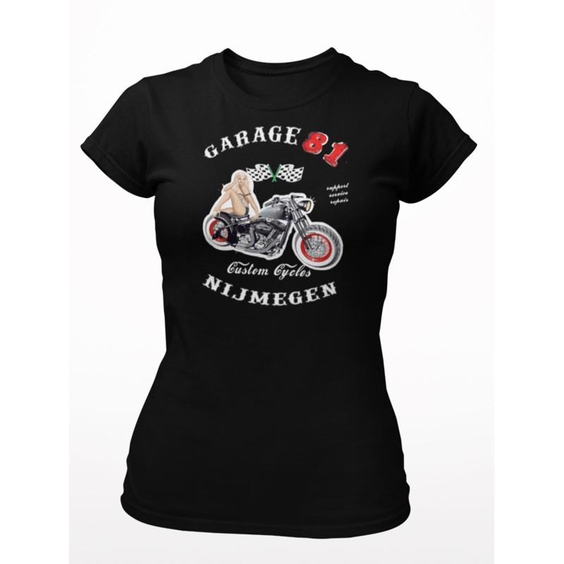 Hells Angels Nijmegen Holland Big Red Machine Support81 Ladies Pin Up