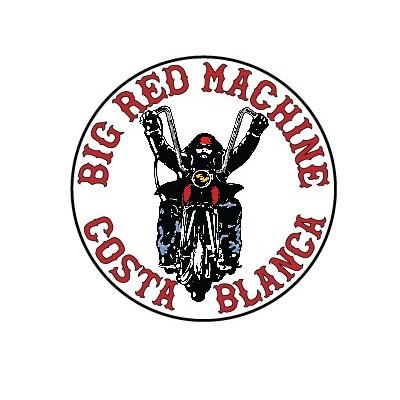 Hells Angels adhesivo Support 81 Big Red Machine Biker