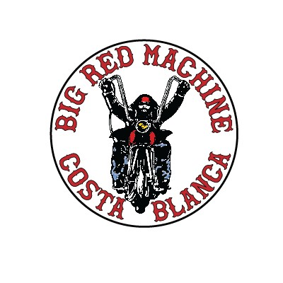 Hells Angels autocollant Support 81 Big Red Machine Biker