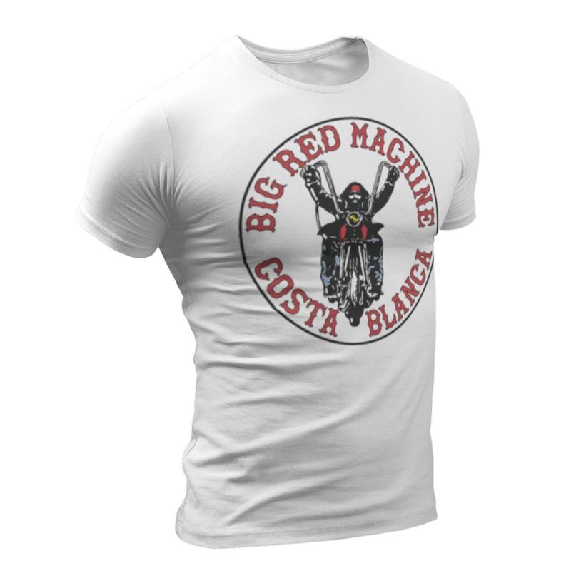 Hells Angels Big Red Machine Support 81 Camiseta