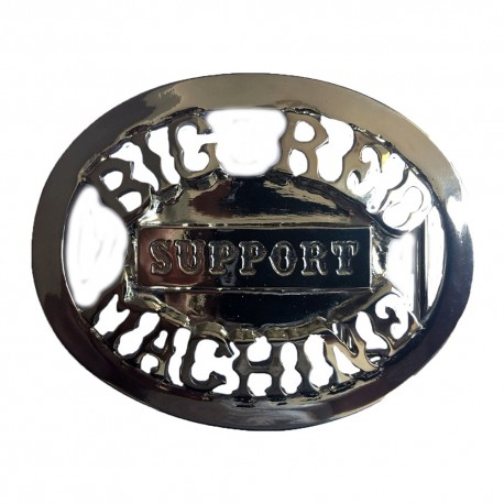 Hells Angels Support81 Beltbuckle Chrome