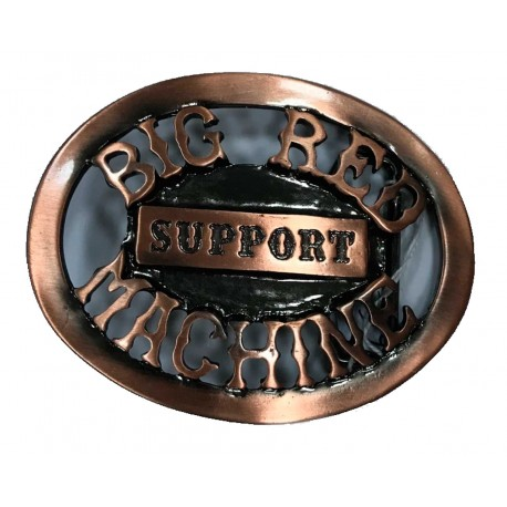 Hells Angels Support81 Beltbuckle Copper