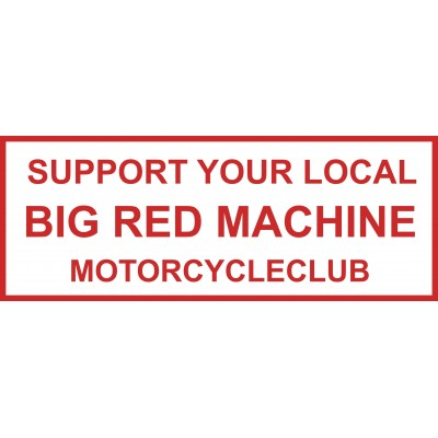 Hells Angels sticker Support81 BRM Motorcycleclub