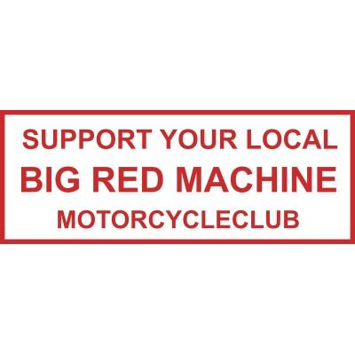 Hells Angels sticker Support81 BRM Motorcycleclub