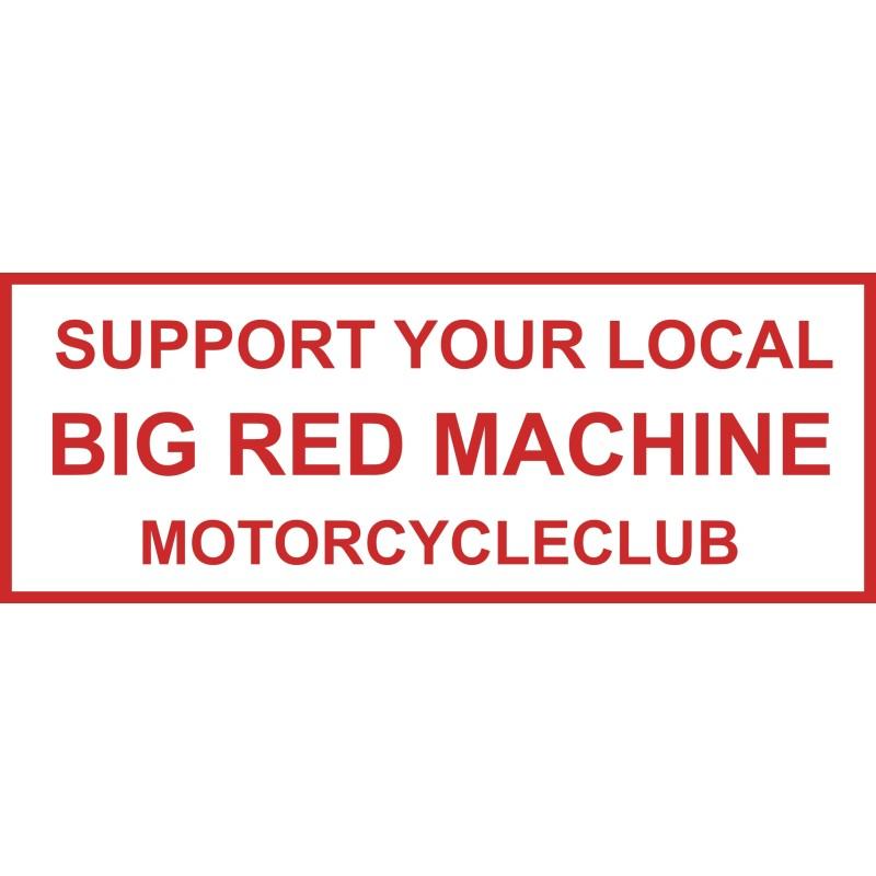 aufkleber Hells Angels sticker Support81 BRM Motorcycleclub