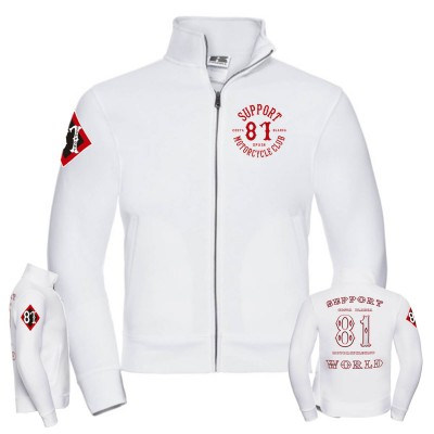 Hells Angels 81 Support81 Jacket Big Red Machine World