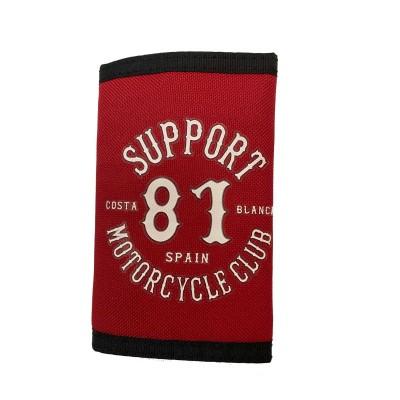 Hells Angels Support81 World Geldbeutel rot Costa Banca