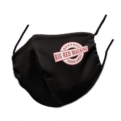 Hells Angels Support81 Face Mask 81 Black BRM 100% organic
