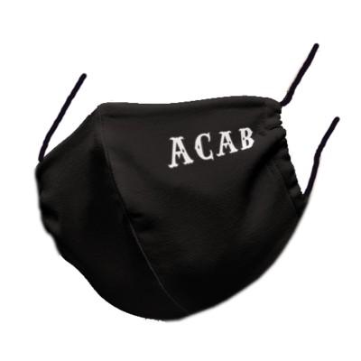 Hells Angels Support81 Masque de Protection ACA B anti-poussière postillaire Protection faciale 100% organic