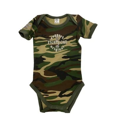 Baby Bodysuit Strampler Support 81 Camouflage Costa Blanca Hells Angels