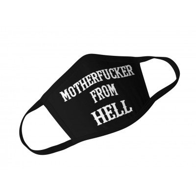 Hells Angels Support81 Motherf*cker MASCHERINA RESPIRATORE PROTEZIONE Fruit of the Loom