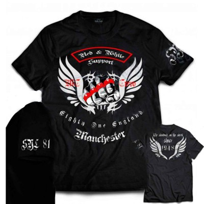 Hells Angels Manchester England T-Shirt Support81 model 5