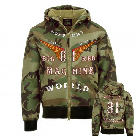 Hells Angels 81 Support81 Hoodie Camouflage