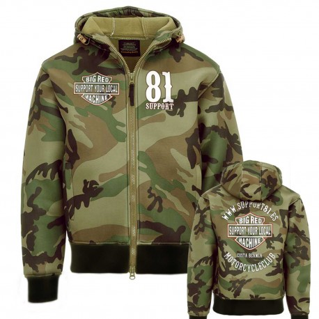 Hells Angels 81 Support81 Hoodie Camouflage WWW