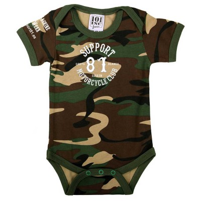 Baby Bodysuit Toddler Support 81 Camouflage 2 Costa Blanca Hells Angels