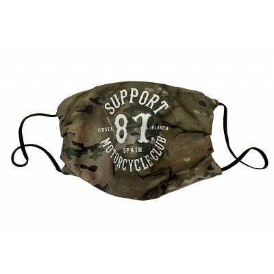 Hells Angels Support81 Face Mask Military Camouflage