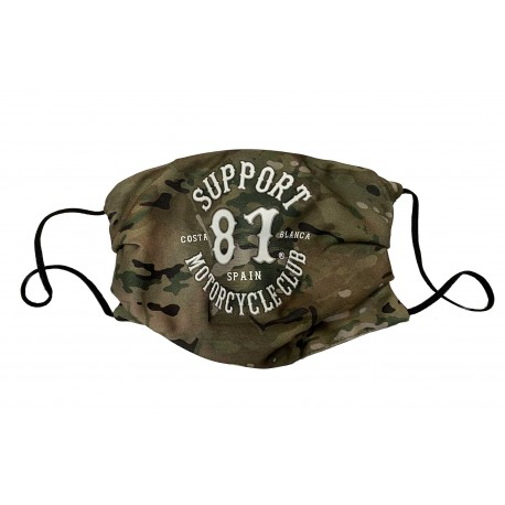 Hells Angels Support81 Masque de Protection Military Camouflage