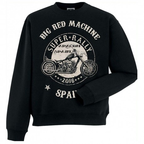 HELLS ANGELS SUPERRALLY SUPPORT81 SWEATER BIG RED MACHINE