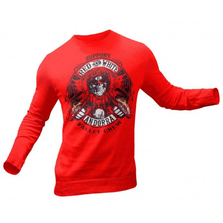 Hells Angels Andorra Support81 Red Sweater