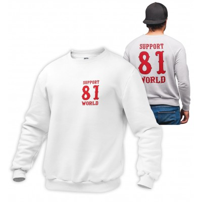 Hells Angels World Support81 sweater Big Red Machine