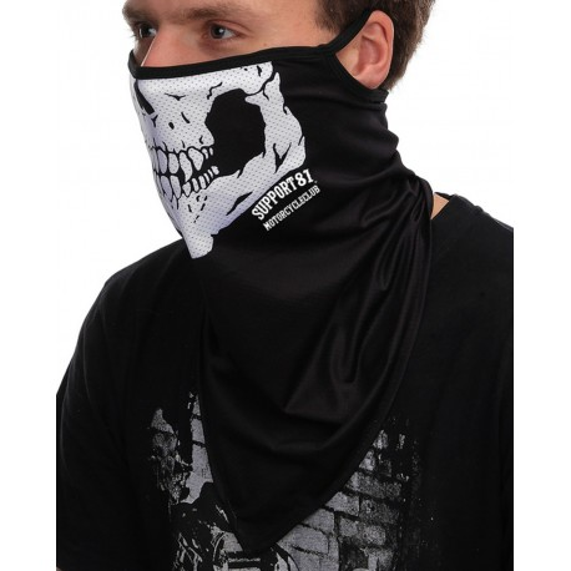 Hells Angels Support81 biker cranio MASCHERINA RESPIRATORE PROTEZIONE